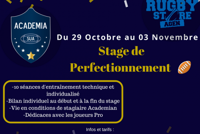 Academia : Stages de perfectionnement