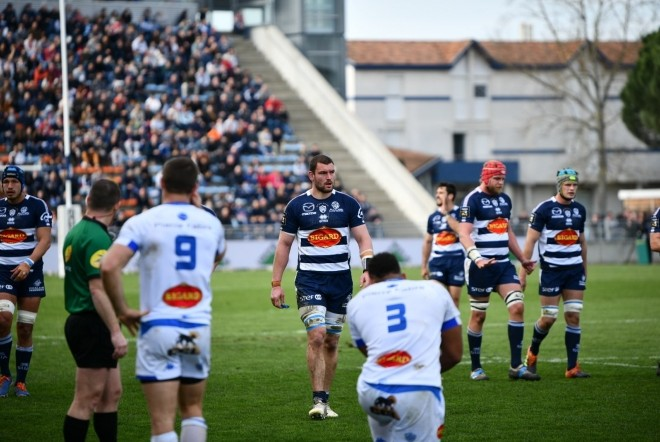 J15TOP14 : Agen s'incline à domicile face à Castres (24-43)